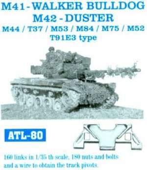 Cadenas para M41-Walker Bulldog M42 - Du - Ref.: FRIU-ATL080