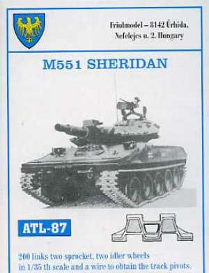 Cadenas para M551 Sheridan - Ref.: FRIU-ATL087