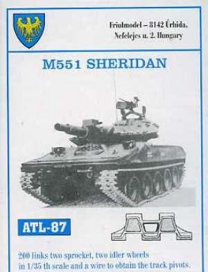 Cadenas para M551 Sheridan  (Vista 1)
