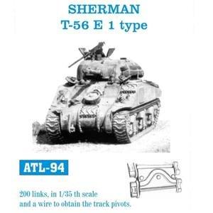 Cadenas para Sherman T-56 E 1 type  (Vista 1)