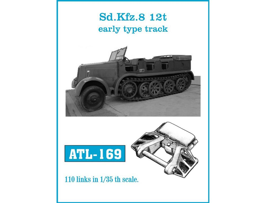 Sd.Kfz. 8 12t Early type track (Vista 1)