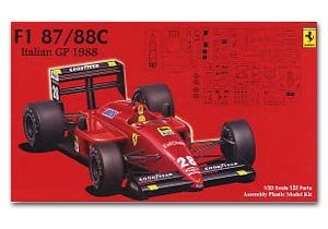 F1 Ferrari 187/88C  (Vista 1)