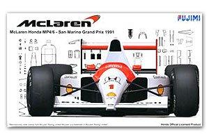 McLaren Honda MP4/6 Early Type San Marin  (Vista 1)