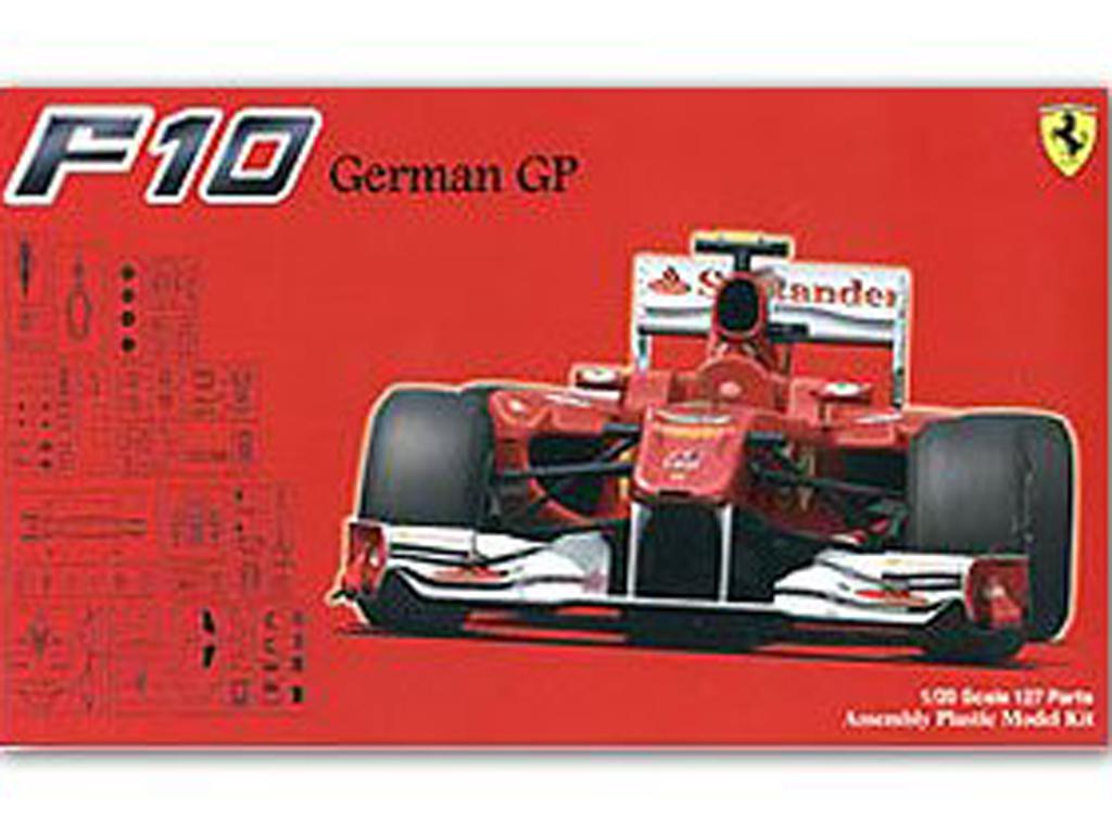 Ferrari F10 German GP  (Vista 1)