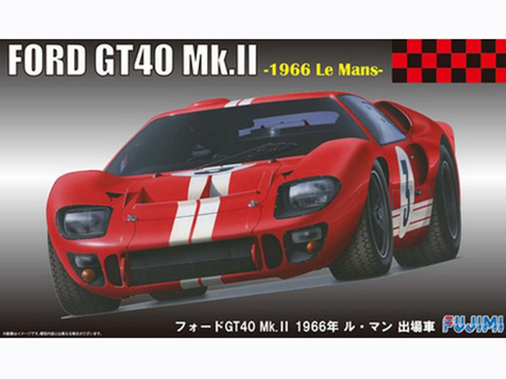 Ford GT40 Le Mans 1966  (Vista 1)