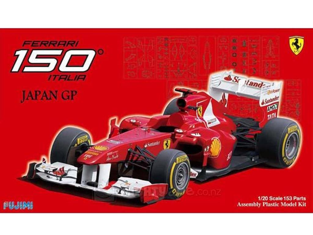Ferrari F150 Japan GP (Vista 1)