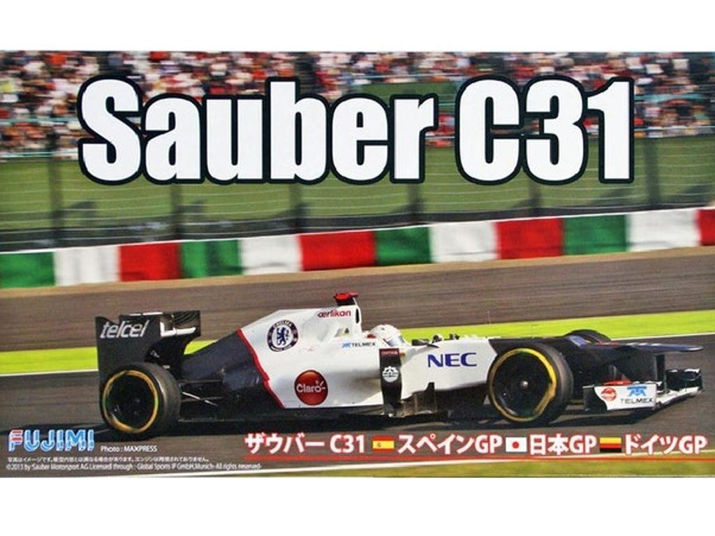 Sauber C31 (Vista 1)