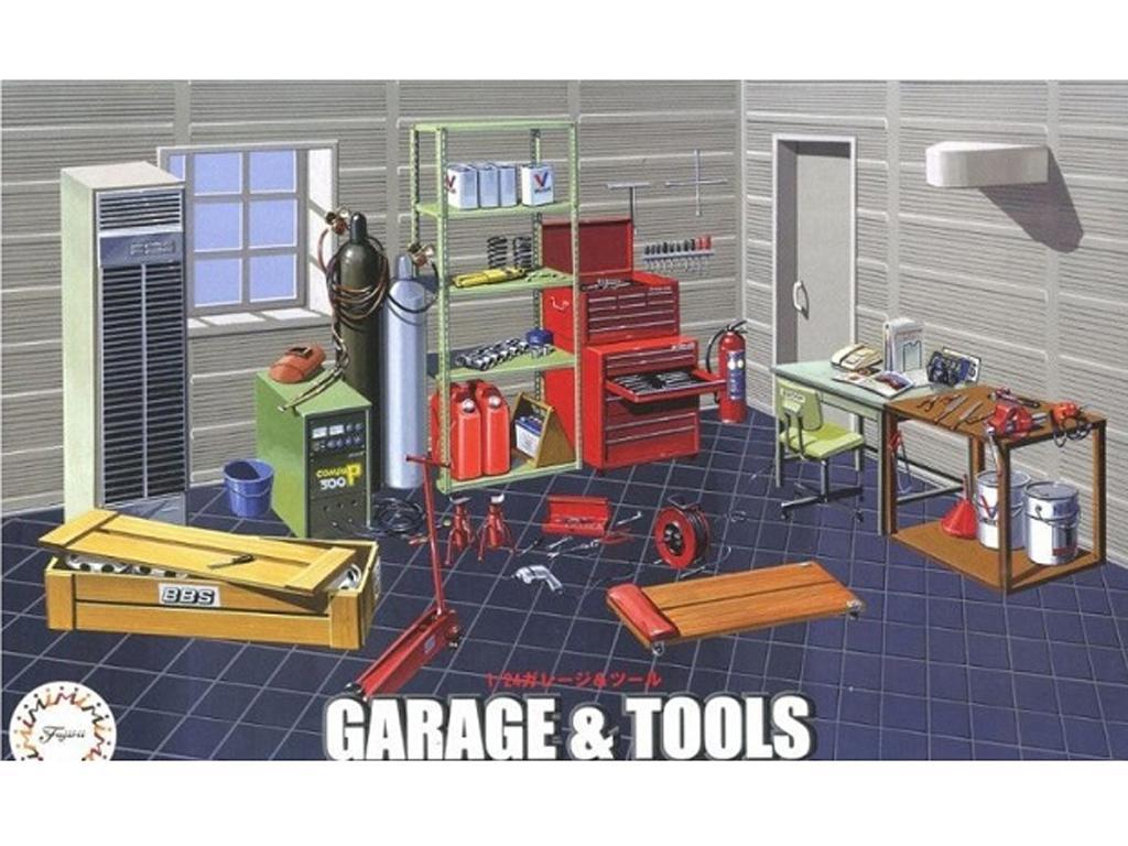 Garage y Herramientas de Taller (Vista 1)