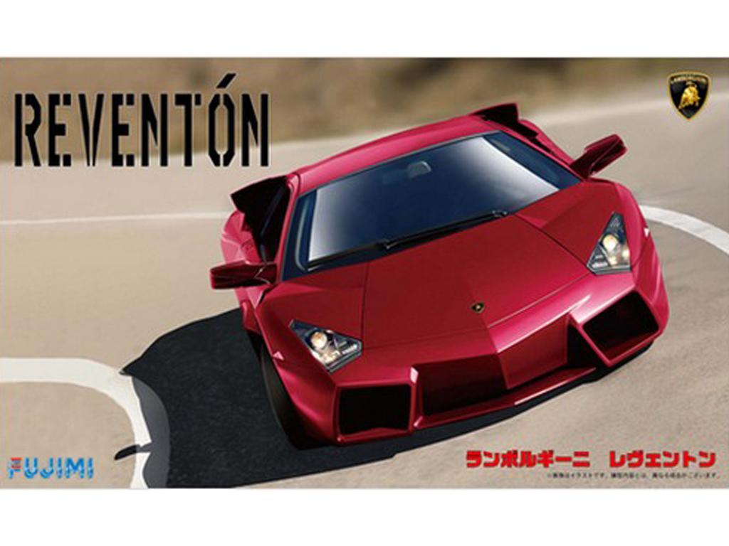 Lamborghini Reventon Rosso (Vista 1)