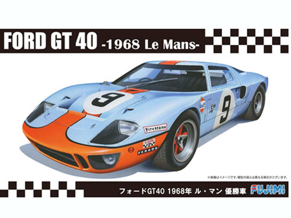 Ford GT40 Le Mans Winner 1968 (Vista 1)