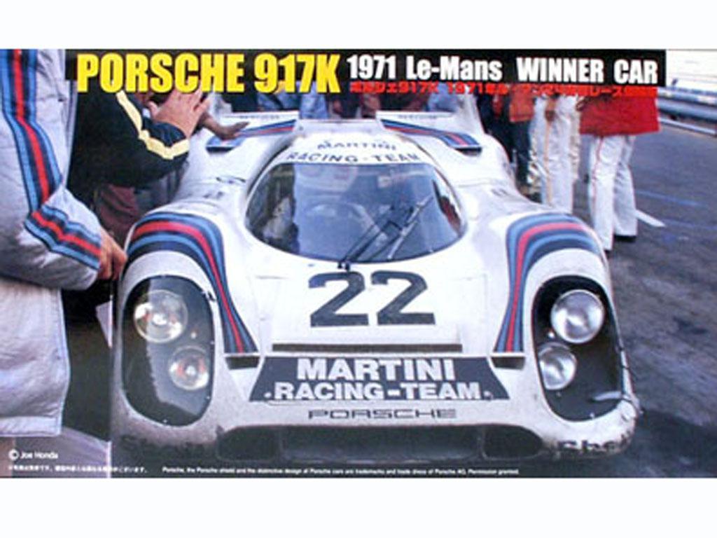 Porsche 917K 1971 Le Mans Winner Car (Vista 1)