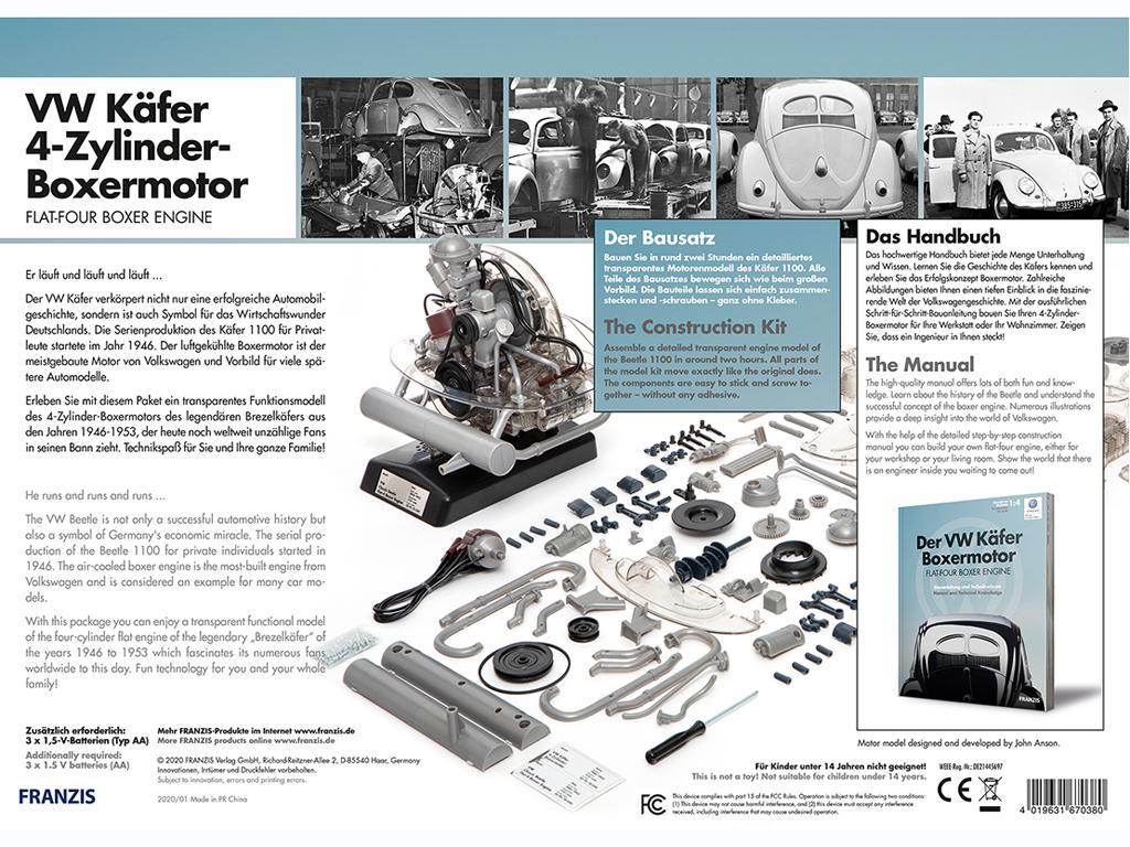 VW Beetle 4-Cyl. Boxer Engine (Vista 2)