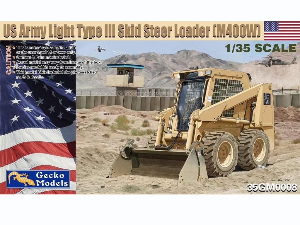 US Army Skid Steer Loader M400W (Vista 1)