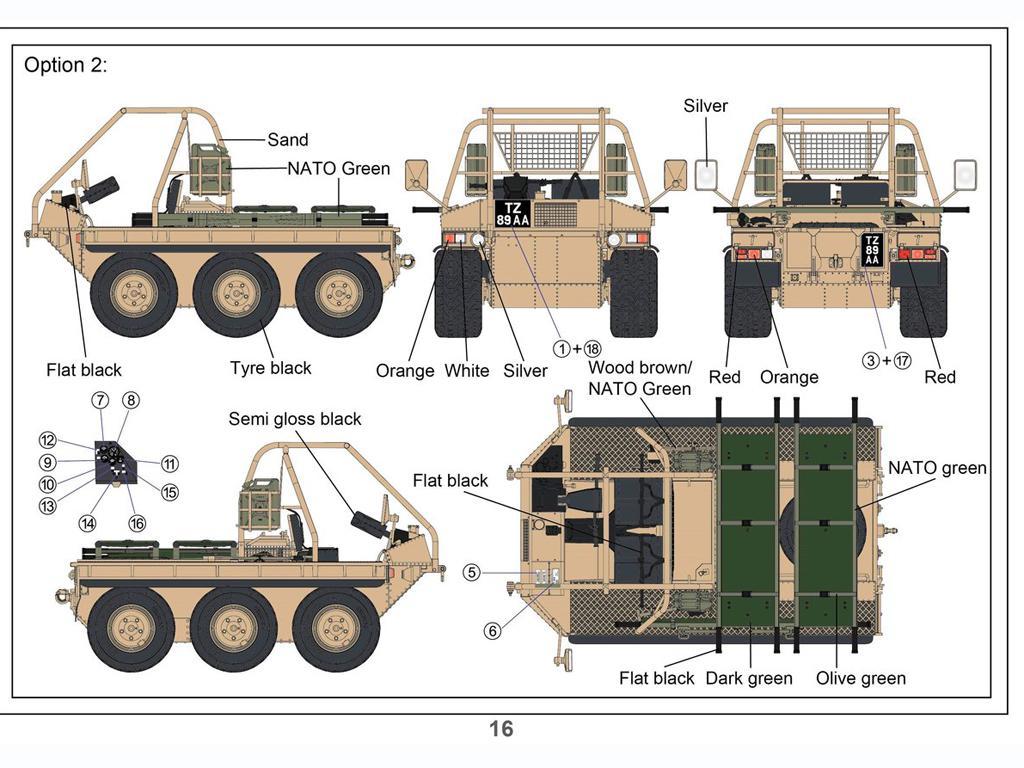 British ATMP w/Rescue Stretcher (Vista 3)