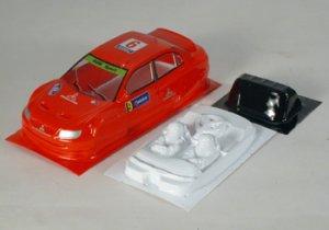 Carrocería Mitsubishi WRC   (Vista 1)