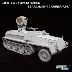 sWS 60cm Infrared Searchlight Carrier   (Vista 2)