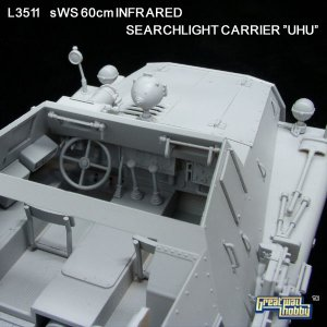 sWS 60cm Infrared Searchlight Carrier   (Vista 3)
