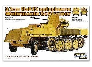 FlaK 43  3.7cm auf Schwere Wehrmacht Sch  (Vista 1)