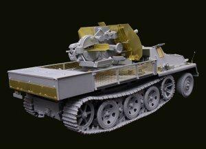 FlaK 43  3.7cm auf Schwere Wehrmacht Sch  (Vista 4)