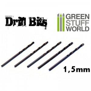 Brocas Modelismo 1.5 mm  (Vista 1)