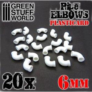 Codos de Plasticard 6 mm  (Vista 1)