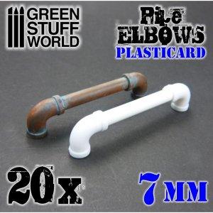 Codos de Plasticard 7 mm  (Vista 1)