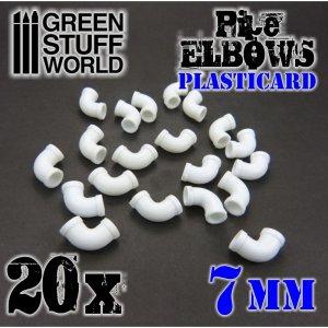 Codos de Plasticard 7 mm  (Vista 2)