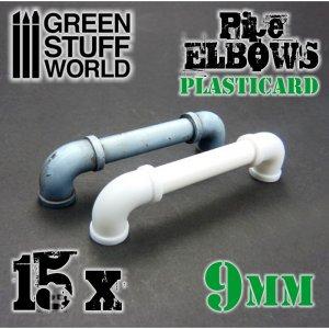 Codos de Plasticard 9 mm  (Vista 1)