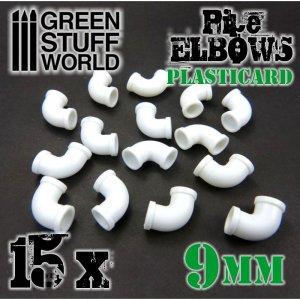 Codos de Plasticard 9 mm  (Vista 2)