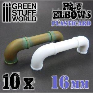 Codos de Plasticard 16 mm  (Vista 1)