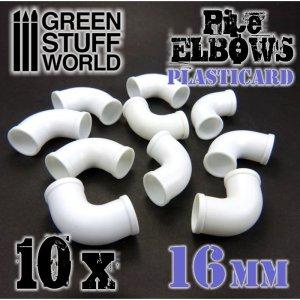 Codos de Plasticard 16 mm  (Vista 2)