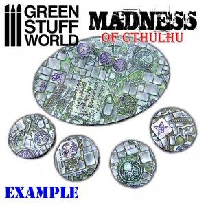 Rodillo Texturizado Locura de Cthulhu  (Vista 2)