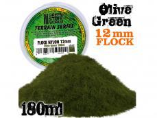 Cesped Fino Electrostatico - Verde Oliva - Ref.: GREE-04422