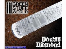 Rodillo Doble Diamante - Ref.: GREE-61649