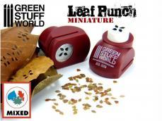 Troqueladora de Hojas Miniatura Roja - Ref.: GREE-63100