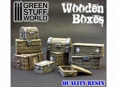 Set de Cajas de Madera - Ref.: GREE-64619