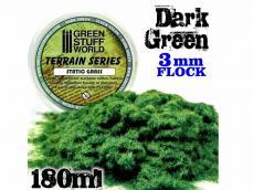 Cesped Fino Electrostatico Verde Oscuro - Ref.: GREE-65630