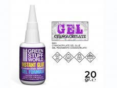 Pegamento Cianocrilato - Formula GEL - Ref.: GREE-67221