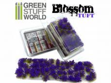 Flores Violetas - Autoadhesivas - 6mm - Ref.: GREE-67825
