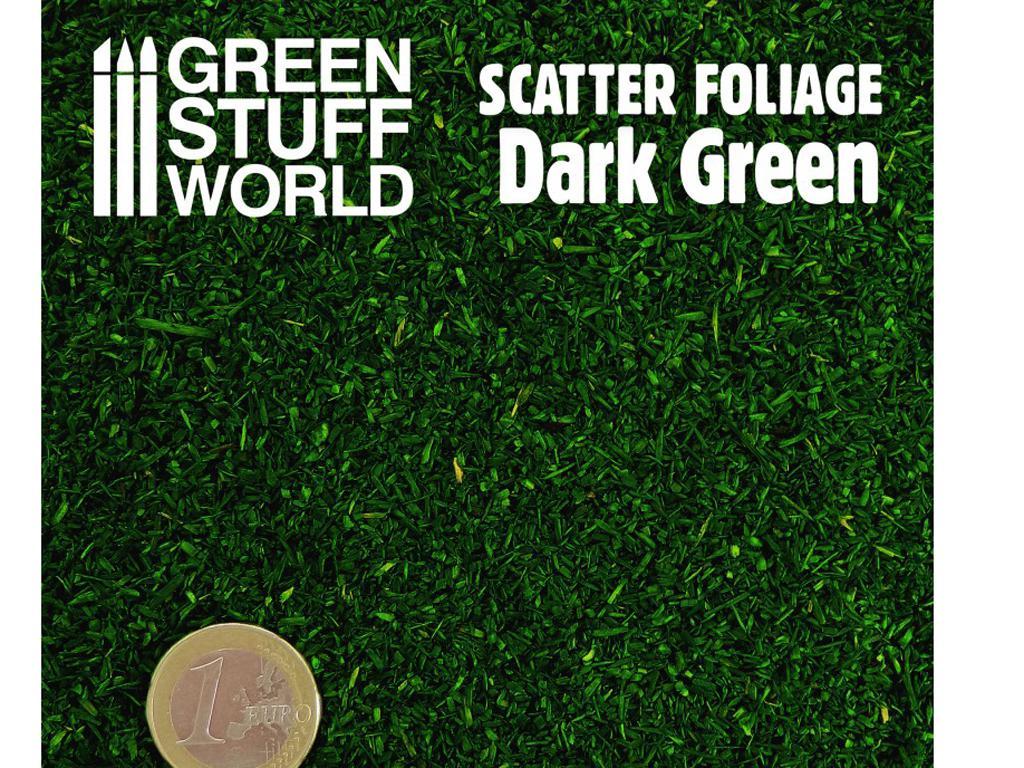 Hojarasca - Verde Oscuro (Vista 2)