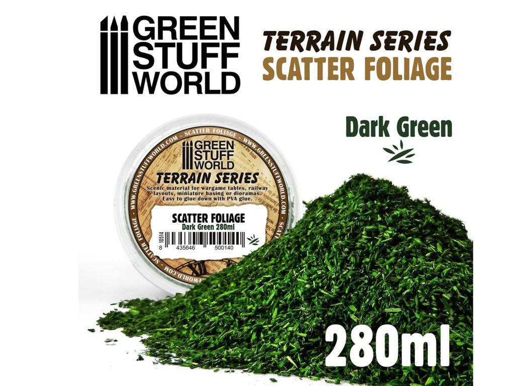 Hojarasca - Verde Oscuro (Vista 1)