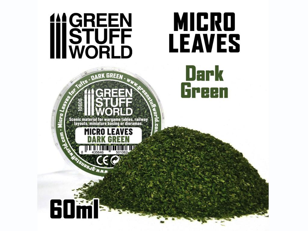 Micro Hojas - Mix verde Oscuro (Vista 1)