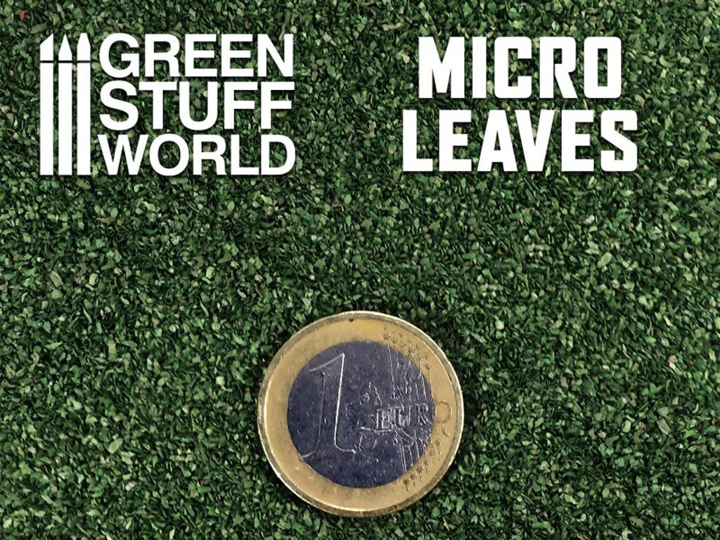 Micro Hojas - Mix verde Oscuro (Vista 3)