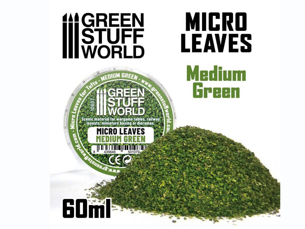 Micro Hojas - Mix Verde Medio (Vista 1)