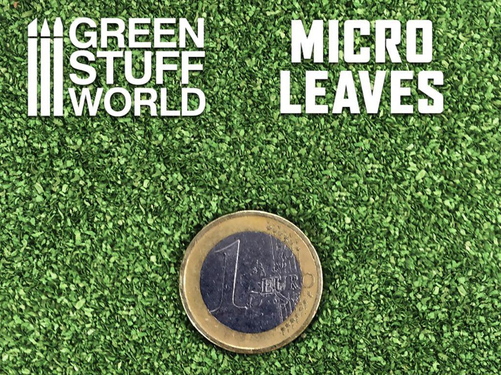 Micro Hojas - Mix Verde Medio (Vista 3)