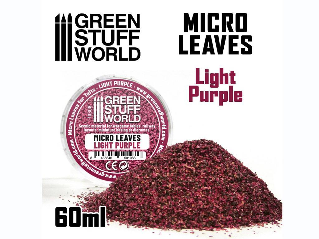Micro Hojas - Mix Violeta Claro (Vista 1)