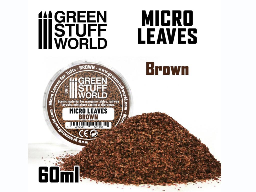 Micro Hojas - Mix Marron (Vista 1)