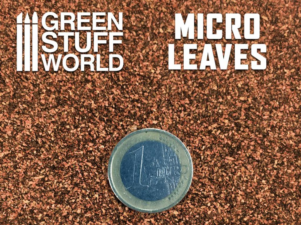 Micro Hojas - Mix Marron (Vista 3)
