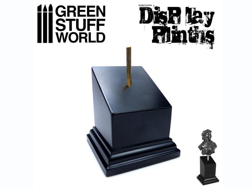 Pedestal Bustos Negro 5 x 5 cm (Vista 1)