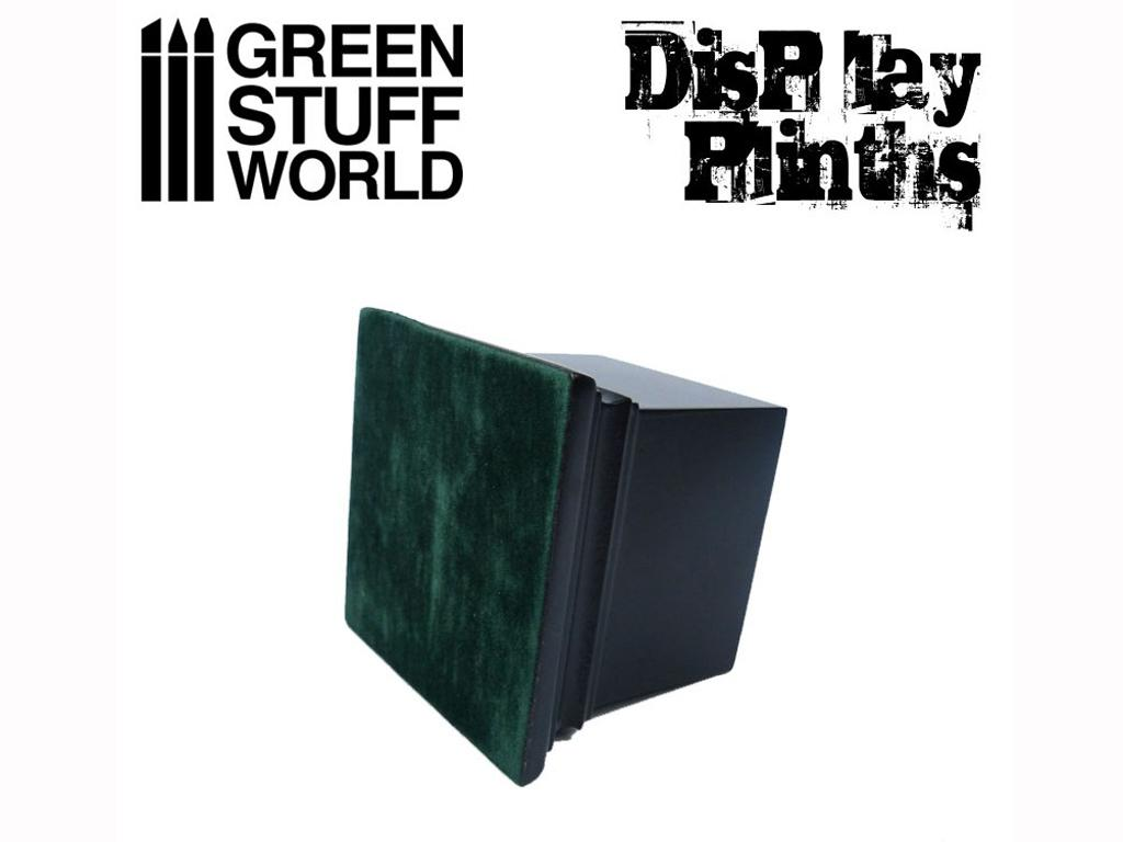 Peana Cuadrada 6 x 6 cm Negra (Vista 2)